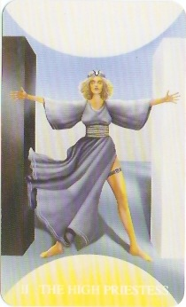 The Witches Tarot, The High Priestess
